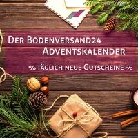 Der Bodenversand24 Adventskalender- Jetzt Türchen öffnen