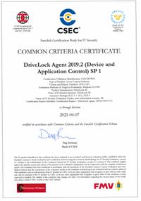 DriveLock erzielt BSI-anerkannte Zertifizierung Common Criteria EAL3+