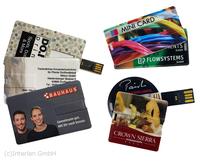 USB-Karten mit Bedruckung sind innovative Werbemittel