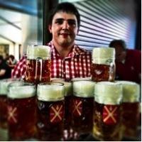 Wallersteiner Fürsten Bier im Sixengarten