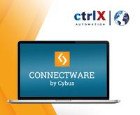 Mit der Cybus Connectware App für ctrlX AUTOMATION ist ab sofort fabrikweite Vernetzung möglich