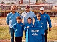 Flavura Kaffee und Vending ist Sponsor der Kinderfußballmannschaft des FSV 1895 Magdeburg
