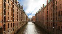 Hamburg Speicherstadt - größtes Lagerhausensemble der Welt
