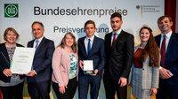 Bundesehrenpreis für Wein- und Sektkellerei Gebrüder Anselmann aus Edesheim (Pfalz)