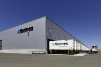 Hermes Logistikzentrum für Großstücke in Betrieb
