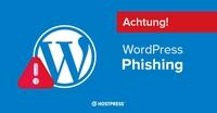 Vorsicht vor bösartigen WordPress Phishing E-Mails