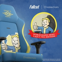 noblechairs HERO Fallout Vault Tec Edition!