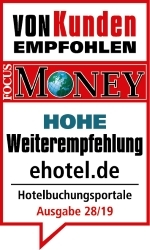 ehotel erhält Auszeichnung in Verhaltensstudie von ServiceValue und FOCUS-MONEY