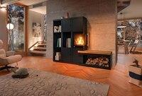 Wohnfühloase aus Holz und Stahl