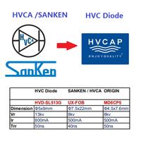 Alternativer Ersatz für Hochspannungsdiode von HVCA, EDI, SANKEN
