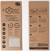 FOOGY - Das Antibeschlag- und Reinigungstuch gegen beschlagen Brillengläser
