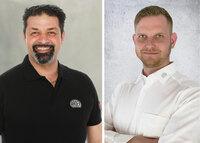 Zwei neue Mitarbeiter im Ardex-Außendienst