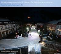 Ü-Wagen-Dienstleister SIMON MEDIA bei der Langlauf-Nacht-Todtnau