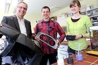 Kunststoffabfall wird zu hochwertigem Werkstoff recycelt