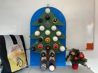 Ein neuer Adventskalender aus alten Trinkflaschen zum Selbermachen