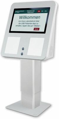 Klinik-Patientenkommunikation aus dem Covid19 Testzentrum