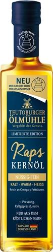 Goldgelber Genuss zur Festtagssaison von der Teutoburger Ölmühle