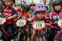 Die Biker von Morgen messen sich bei Kinderlaufrad-WM