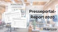 Der PR-Gateway Presseportal-Report 2020