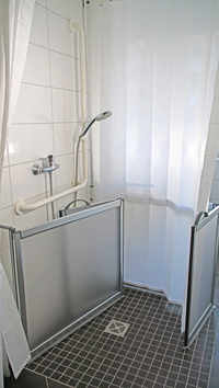 Komfortable Duschtüren für Jung und Alt