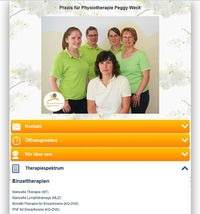 Physiotherapeutin Peggy Weck erfolgreich mit teggee-Page