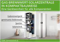 Solarzentrale in Kompaktbauweise
