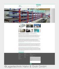 Relaunch der Website der LagerTechnik Hahn & Groh GmbH