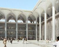 Hochfester Weißbeton für die drittgrößte Moschee der Welt