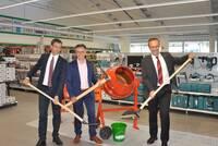 6 Millionen Euro für neues Lagerhaus Bauzentrum