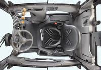 Optionale Vollkabine für den Crown C-5 Gasstapler bietet bisher unerreichte Ergonomie und Rundumsicht