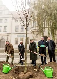1. Branchentreff Holz - Umweltminister Aeikens wirbt für effizientere wirtschaftliche Nutzung des Bau-, Roh- und Energiestoffes Holz
