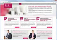 Neue Homepage der DGQ informiert über Revision der ISO 9001
