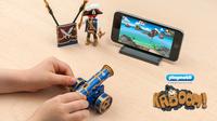 Seeräuber-Spaß in einer neuen Dimension  PLAYMOBIL Pirates mit innovativer Handy-App