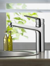 Die Armaturenserie CeraPlan III ist jetzt auch in formschönen und praktischen Varianten für die Küche verfügbar