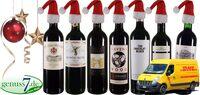 Wein zu Weihnachten braucht einen schnellen Versand!