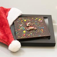 Handgefertigte Schokolade und Pralinen zu Weihnachten