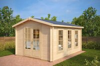 Gartenhaus-Händler präsentiert besonders elegante Produktreihe