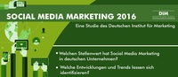 Studie Social Media Marketing 2016
