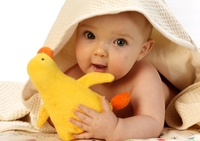Natur für Babys Haut