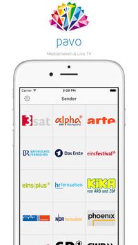pavo - die App für alle öffentlich-rechtlichen Mediatheken