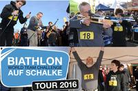Die Biathlon auf Schalke-Tour 2016